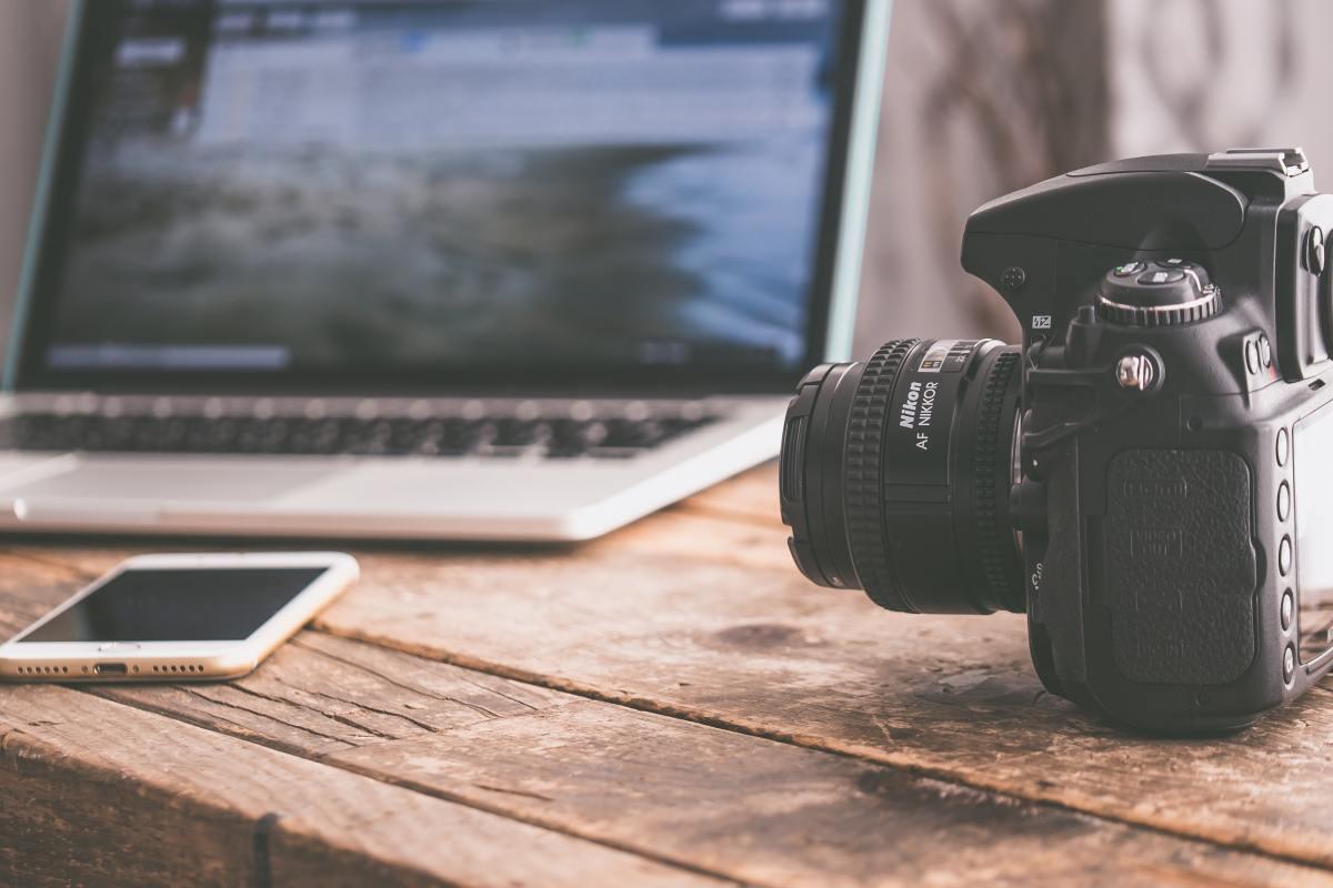 camara para creadores de contenido